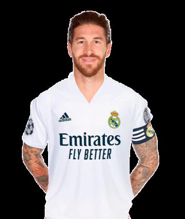 Sergio Ramos es uno de los jugadores del Real Madrid 2020-2021