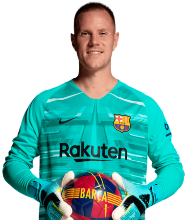 Ter Stegen es uno de los jugadores del Barcelona 2020-2021