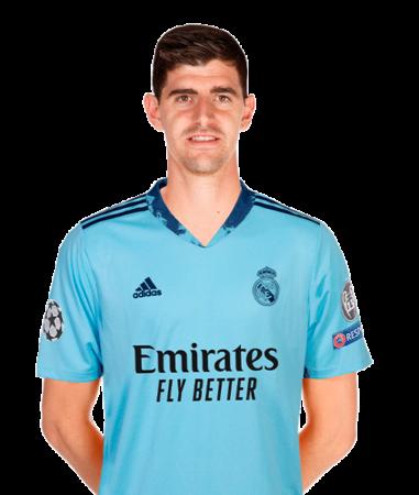 Thibaut Courtois es uno de los jugadores del Real Madrid 2020-2021