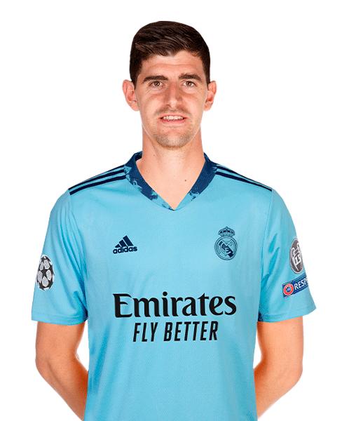 Plantilla del Real Madrid 2020-2021: Thibaut Courtois