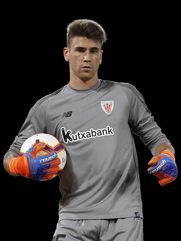 Plantilla del Athletic de Bilbao 2020-2021: Unai Simón