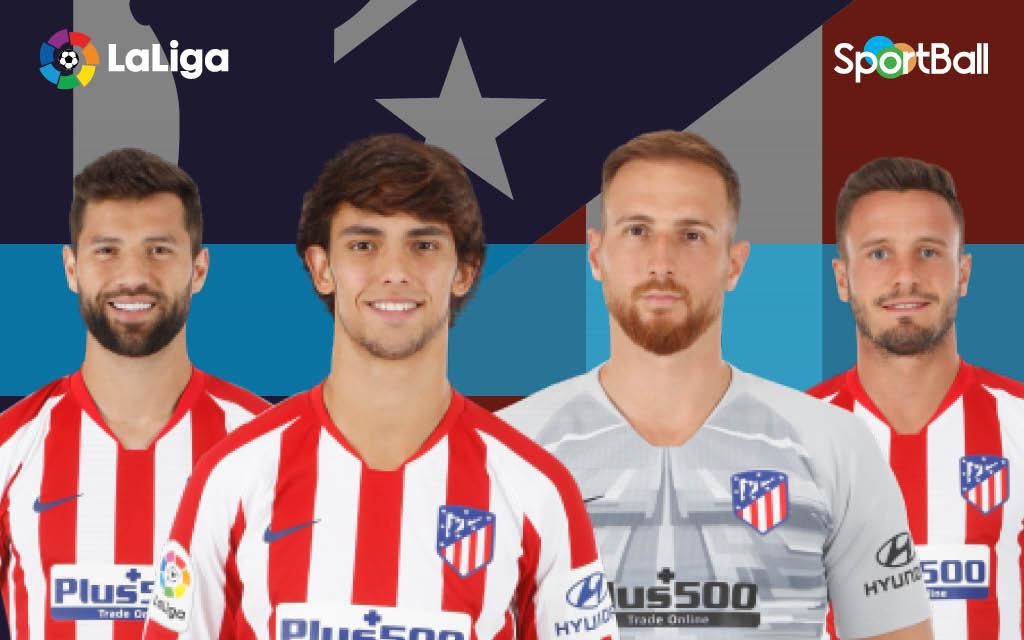 Jugadores actuales de la plantilla del Atlético de Madrid