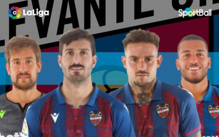 Jugadores actuales de la plantilla del Levante