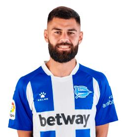 Rubén Duarte es uno de los jugadores del Alavés 2020-2021