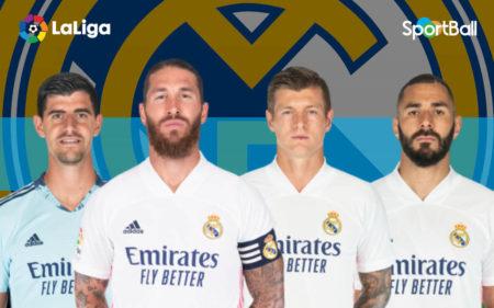 Plantilla del Real Madrid 2020-2021