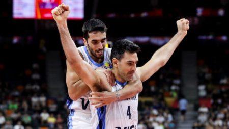 Jugadores de la selección de baloncesto de Argentina