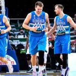 Jugadores de la selección de baloncesto de Eslovenia para los JJOO 2021