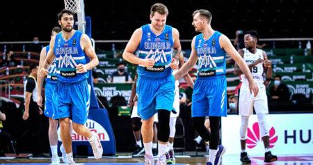 Jugadores de la selección de baloncesto de Eslovenia