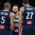 Jugadores de la selección de baloncesto de Francia para los JJOO 2021