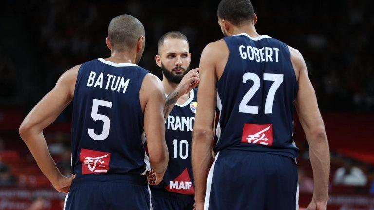 Jugadores de la selección de baloncesto de Francia