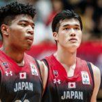 Jugadores de la selección de baloncesto de Japón para los JJOO 2021