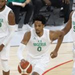 Jugadores de la selección de baloncesto de Nigeria para los JJOO 2021