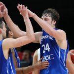 Jugadores de la selección de baloncesto de República Checa para los JJOO 2021
