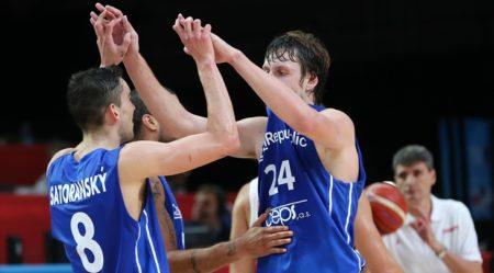 Jugadores de la selección de baloncesto de República Checa